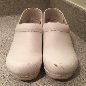 White Dansko Clogs